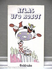 Figurina autoadesiva Atlas Ufo Robot GOLDRAKE EDIERRE Toei Animation 1978 RAI