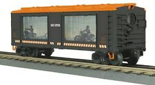 discontinued  MTH 20-79227 Operating Action Car  Box Car Harley Davidson new