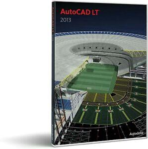 Autodesk AutoCAD LT 2013 Multilangues Serial NO et Key Inclus. 1 Utilisateur