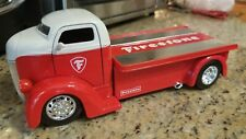 1/24 JADA JUST TRUCKS 1947 FORD COE FIRESTONE DIECAST