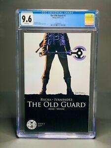Old Guard #1 1st Print CGC 9.6 Image Comics Charlize Theron Greg Rucka 2017