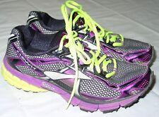 Ravenna 4 Brooks Athletic Shoes Running Size 7.5 Black Purple Women's