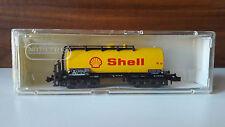 MINITRIX 3551 wagon citerne SHELL pour train électrique
