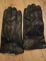 RAF ARMY MENS BLACK LEATHER SERVICE GLOVES VARIOUS SIZES GENUINE ISSUE