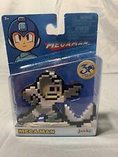 NEW Mega Man 30th Anniversary Jakks Pacific Figure 8bit Rolling Cutter Nintendo