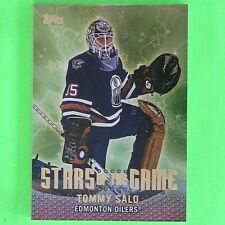 TOMMY SALO 2001  STARS OF THE GAME  Topps #SG10   Edmonton Oilers