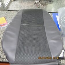 07-17 GMC Sierra 1500/Chevy Silverado 1500 Front Seat Covers - Black/Two Tone