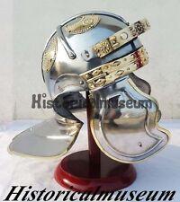 Roman Imperial Gallic Troopers Helmet Armor Adult Size LARP w/Liner & CAP Strap