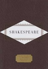 Everyman's Library Pocket Poets: Shakespeare by William Shakespeare (1994, Hardc