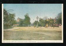 Glos Gloucestershire CHELTENHAM Lansdown Place & Gordon Lamp 1914 PPC Edwards