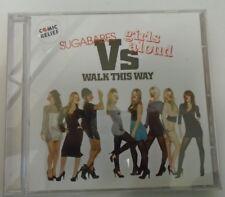 SUGABABES vs GIRLS ALOUD ~ Walk This Way ~ CD SINGLE ENHANCED
