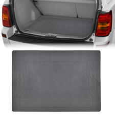 Trunk Cargo Floor Mat Gray Odorless Utility Rubber Liners Full Flex All Weather