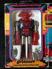 Vintage RARE Mattel 1977 Shogun Warriors Dragun 100% COMPLETE IN BOX!!!
