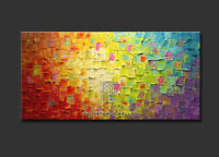 LMOP41 100% hand painted MODERN ABSTRACT LARGE ON CANVAS ART OIL PAINTING