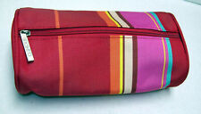 VINTAGE Clinique Make-up Tote Zip Cosmetic Accessories TRAVEL Tube Toiletry Bag