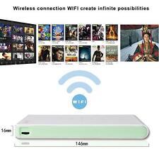 1080P Mini Wireless Wifi DLP Pico Projector Home Theater Airplay HDMI USB TF Fun