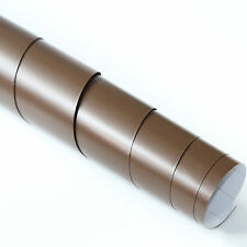 2x DIN A4 Wrapping Folie Matt Braun 21cm x 29,7cm Autofolie mit Luftkanälen