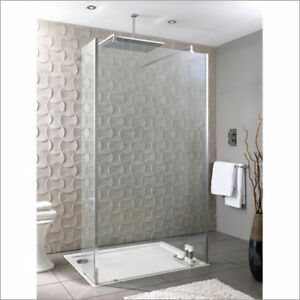 Playtime 1000mm walk-through shower with 300mm side screen | RRP: £989