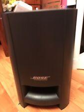 Bose CineMate Digital Home Theater Speaker System Subwoofer Black