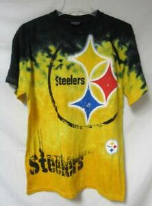Pittsburgh Steelers Men's Size Large Tie Dye T-Shirt A1 3934
