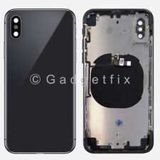US Back Glass Battery Door Cover Mid Middle Frame Replacement Parts for Iphone X