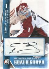 2013-14 ITG Between the Pipes Autograph #A-SV Semyon Varlamov Auto Avalanche