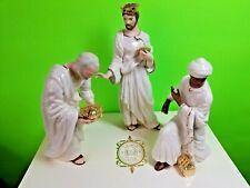 Lenox Classics - Three Kings - Nativity Figurines Ivory 24kt Gold