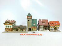 BX496-3# 4x Vollmer H0 Bahnhof/Fachwerkhaus: 20354 + 29396 + 20817 + 3507