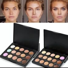 2 in 1 Palette Contouring (9 colors) and concealer (6 colors)