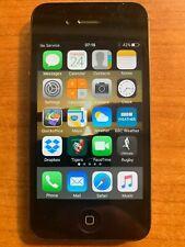 Apple iPhone 4s 32GB Teléfono Inteligente-Negro (EE) Usado Excelente Estado, Con Caja