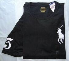 Polo Ralph Lauren Mens Big Pony Logo Crewneck T Shirt Cotton Size XXL