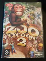 Zoo Tycoon 2-PC CD Rom Video Game-2004-Free Postage