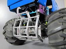 Tamiya 1/10 RC Ford F350 Juggernaut 1 2 Aluminum Axle Mount Bumper Grill Guard