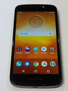 Motorola Moto E5 Play, XT1921-3, 16GB, Metro Locked, Good Condition : AA111