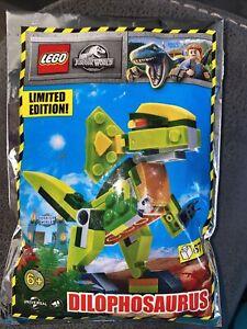 LEGO JURASSIC WORLD: Dilophosaurus Dinosaur Polybag Set 122115. New Sealed