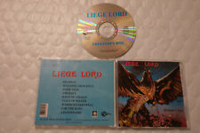 Liege Lord - Freedom's Rise CD 1996 Black Dragon