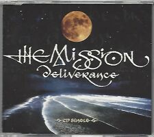 THE MISSION / DELIVERANCE - LIMITED EDITION * NEW MAXI-CD * NEU *