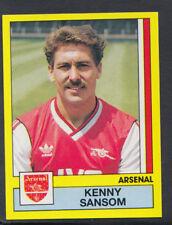 Panini Football 1987 Sticker - No 9 - Kenny Sansom - Arsenal (S877)