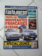 L'Auto-Journal 1999 n°5230 Citroen Picasso Renault Clio RS 206 HDi Scénic 2.0