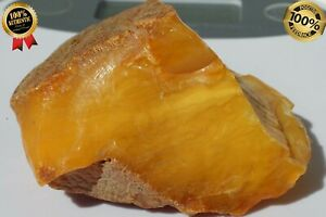 ANTIQUE FULL COLOUR BALTIC NATURAL AUTHENTIC AMBER STONE. FEDEX FAST SHIPPING