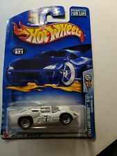 2003 Hot Wheels #21 First Editions 9/42 CHAPARRAL 2D White / Chrome Lace Wheels