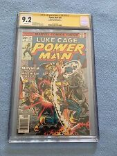 Power Man #39 (Jan 1977, Marvel) Luke Cage CGC SS 9.2 - WHITE PAGES