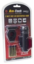 Am Tech S8076 3W CREE LED Rear Bike Light Super Bright  Individual Front or Rear