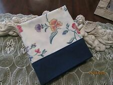COUNTRY COTTAGE JUST A GARDEN OF BEAUTIFUL SPRING FLOWERS PILLOWCASE - NEW