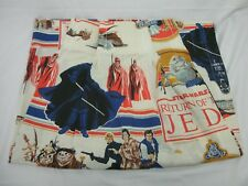 STAR WARS 1983 RETURN of the JEDI 2 PANELS of CURTAINS LUCAS FILM LTD LICENSED