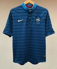 FRANCE NATIONAL TEAM 2012 HOME FOOTBALL SOCCER SHIRT MAGLIA JERSEY CAMISETA NIKE