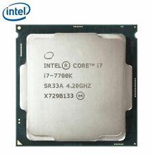 Intel Core i7-7700K 4.20GHz Quad-Core CPU 14nm SR33A LGA1151 8MB *Fully Tested*