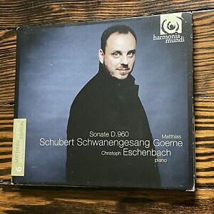 Schubert: Schwanengesang / Piano Sonata, d.960 - Matthias Goerne; Franz Schube..