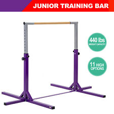 Junior Training Bar Gymnastics Horizontal Practice Sporting Equipment Adjustable