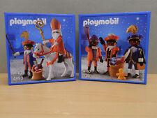 2x Playmobil set 5040 + 4893 OVP Sinterklaas 2009-2012